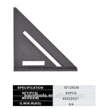 Aluminium Alloy Set Square/Triangle Ruler/Speed Square