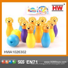 Детская спортивная игрушка Пластиковые мини-кегли для боулинга