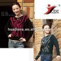 Fashion pattern women's thick cashmere sweater