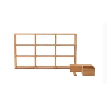 Oak Wood Shelf Storage
