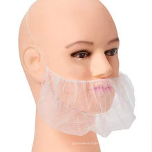 Protective Plastic/PE Ear/Head-Set/Microphone/Headphone/SMS/Disposable PP Nonwoven Beard Cover