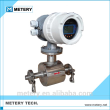 Milch- oder Biereinführung e & h elektromagnetischer mechanischer Durchflussmesser