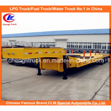 Heavy Duty 50ton Tri-Axle Low Loader Lowbed Semi Trailer
