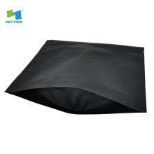 Perfect service termosellado bolsa de café de aluminio negro 250g