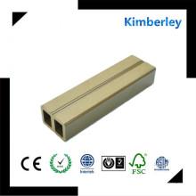 Poutre chinoise de haute qualité WPC avec texture en bois pour le plafond Ward Countyard