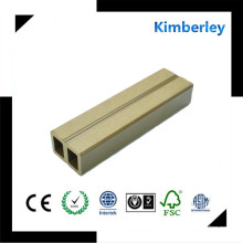 Vedação de alta qualidade WPC chinês com textura de madeira para Countyard WPC Decking