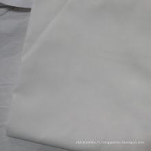 Tissu de literie de luxe TC300 Percale couleur unie couleur blanche