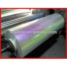 16 Micron Regenbogen / Irisierende VM PET Folie Garn Klasse