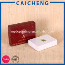 Hot stamping foil cosmetics makeup packaging paper box