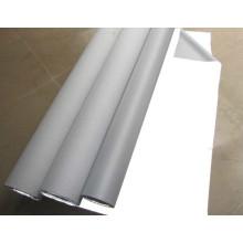 tecido de nylon retro-reflexivo lavável branco de prata para a roupa