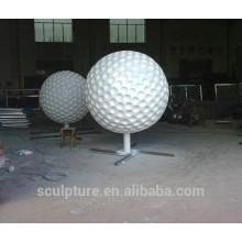 Edelstahl-Kugel Skulptur Golf Skulptur Metall Golf Skulptur China Lieferanten