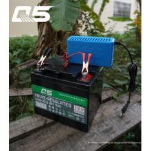 12V4A Automatic Trickle Lead ácido bateria Carregador Armazenamento Carregador de bateria