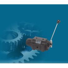 Manueller Absperrschieber zur Steuerung des Hydraulikdrucks