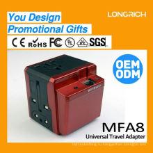2015 Универсальный портативный блок питания зарядного устройства, ценный двойной USB-клуб автомобиля гольф корзину зарядное устройство