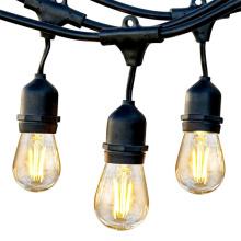 Lumières accrochantes extérieures de 48 pieds S14 LED