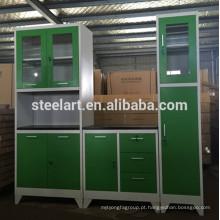 design de armário de cozinha de alumínio gana