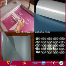 3m hign visibility plastic mirror reflective transparent pet film for logos