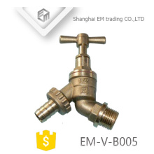 EM-V-B005 Bsp Thread Sanitary Hose Cock Water Taps Brass Bibcock
