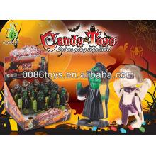 Enrolar brinquedos doces do caráter do Dia das Bruxas