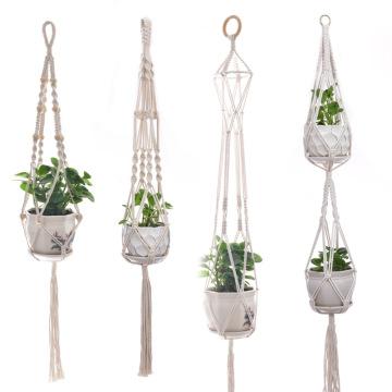 Hanging Flower Planter Pot Holder  for Indoor Outdoor