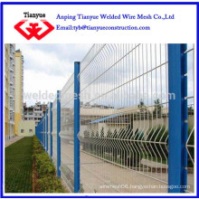 ISO certificated curvy welded fence