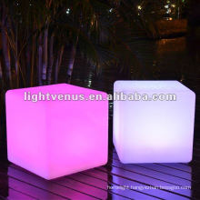 40cm Outdoor and Indoor Color Changing LED Cube Chair