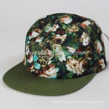 Custom 5 panel hat cap