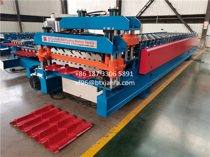 Galvateja Roll Forming Machine