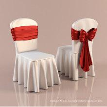 Cubierta de silla de restaurante con volantes (DPFR80134)
