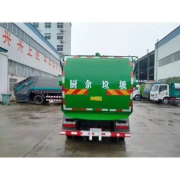 rubbish collection can kitchen garbage transport truck