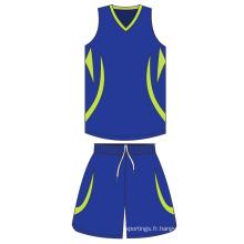 OEM Pas Cher Usine Prix Full Sublimation Personnalisé Professionnel maillage matériel respirant Basketball Jerseys Pour Équipes