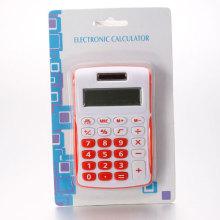Calculadoras rojas & blancas