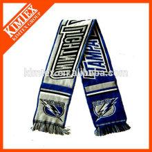 Acrylic custom woven scarf