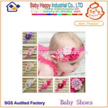 Alibaba Chine Fabricant Prix moins chère bandeaux de fleurs pour bébés