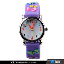 convex surface watch japan movt. quartz kid watch