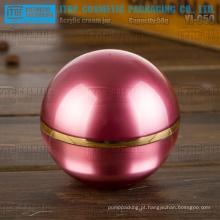 YJ-O50 50g espumante e puro skincare creme 50g acrílico bola jar