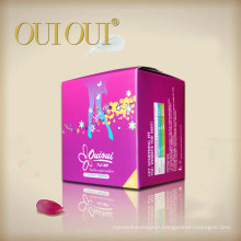 Chinese plastic compact herbal soft sanitary tampons