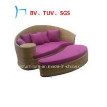 Outdoor Furniture Wicker Garden Leisure Sun Bed (FL015)