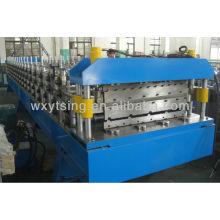 Corrugado y rollo de acero de doble hoja de IBR que forma la máquina