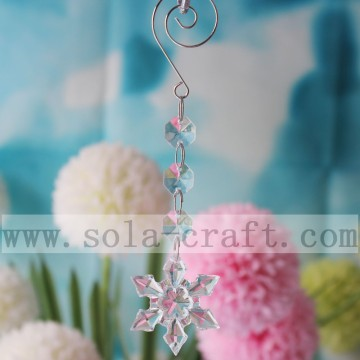 15CM Sparking Snowflake Pendant Prism For Chandelier Accessories