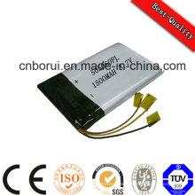 Batterie 3.7V 400mAh Li-ion Batterie Lithium Polymère Rechargeable Batterie de bonne qualité OEM pour Blueteeth MP3 602040