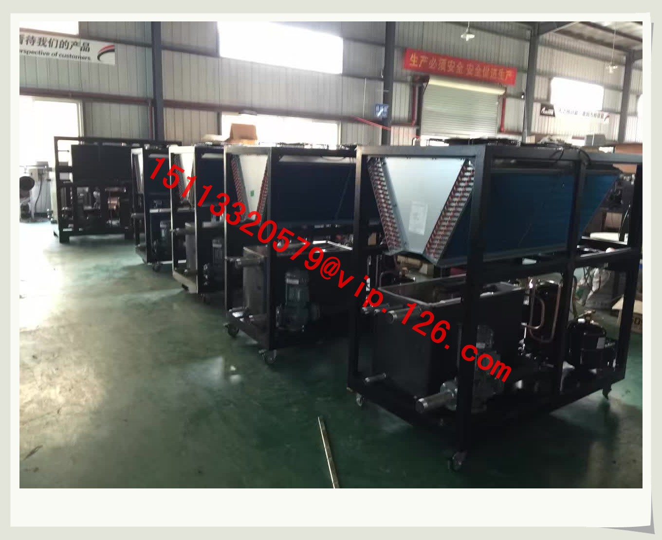 water chiller under production 1b