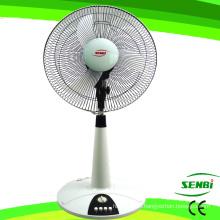 16 Inches DC12V Table Stand Fan Solar Fan Desk Fan (FT-40DC-B)