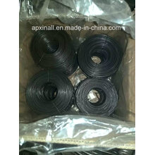 Small Rolls Carton Packing Soft 1.6mm Black Annealed Wire
