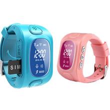 Kleiner Kinder GPS Tracker mit Uhr Design, hohe Qualität, gesundes Design (WT50-KW)