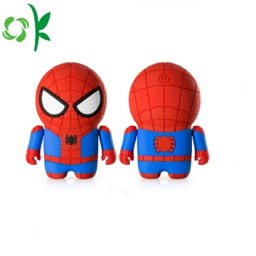 Custodia in silicone Real Powerbank per Spider-man