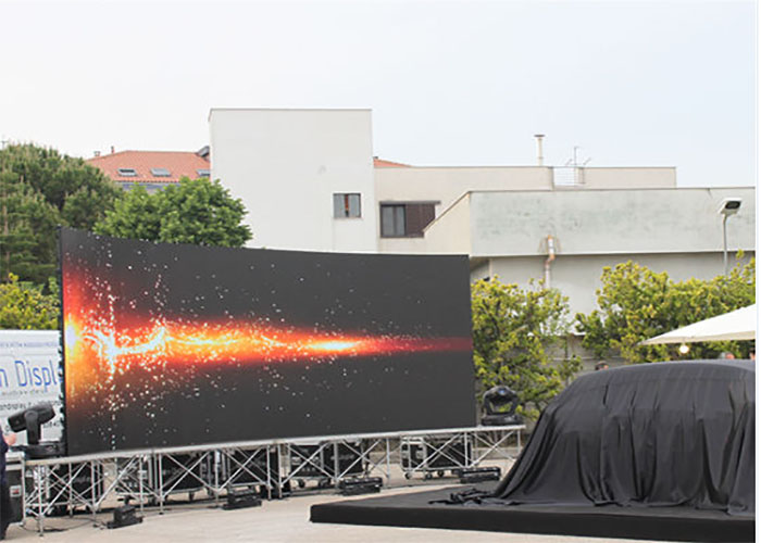vivid image high ip rental led display for stage