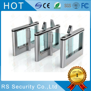 Physical Access Control Security Glass Turnstile System