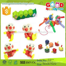 2015 Festival Gifts Cheap Price Solid Wood Small Baby Toys Promotional