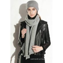 Mulheres todo em um chapéu de lenço de malha fabricado na China